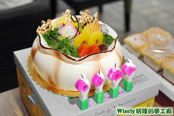 香馥子的生日蛋糕