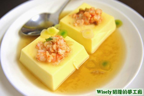 芙蓉豆腐蝦
