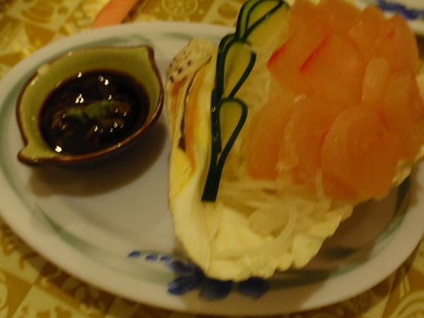 風味晚餐:生魚片(四人份)