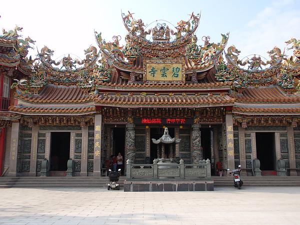小琉球當地的信仰中心:碧雲寺