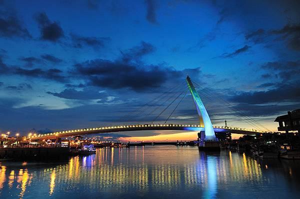 淡水漁人碼頭-情人橋