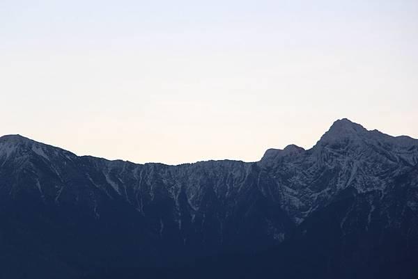 玉山山頂-下雪篇