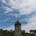 宜蘭外澳金車城堡咖啡-風車