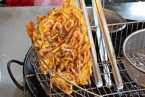宜蘭大溪漁港名產:蝦餅