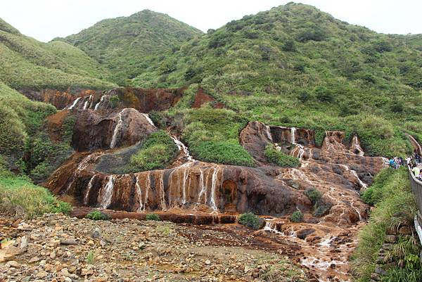 台北瑞芳-黃金瀑布