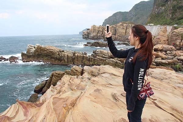 南雅奇岩 遊客