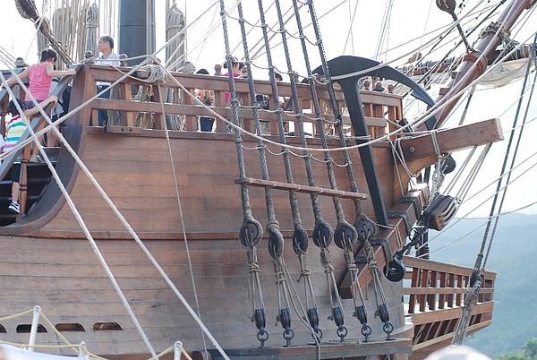 西班牙古戰艦