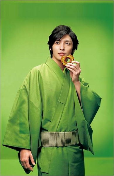 玉木宏的春季甜甜圈廣告