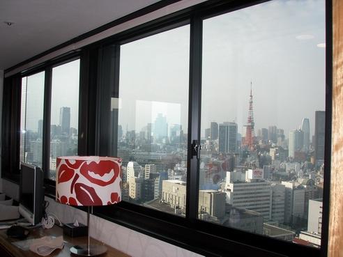 可以看到東京鐵塔喔