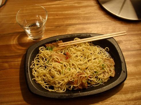 在日本的第一道晚餐