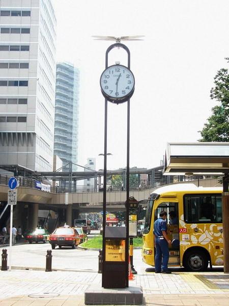 三鷹站的和平鐘