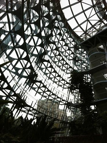 是大型的玻璃屋