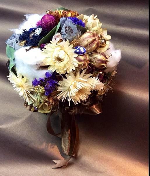 古典乾燥捧花-1