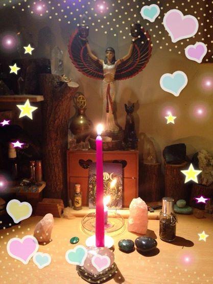 20140924新月魔法油跟蠟燭儀式