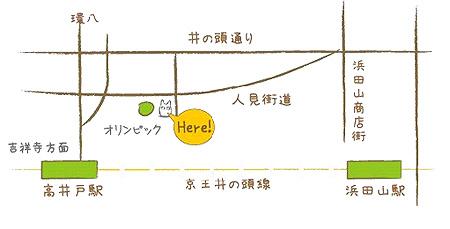 龍貓泡芙店的交通方式