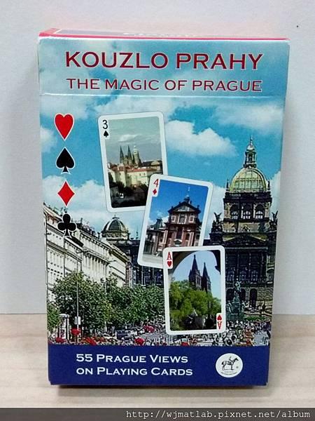 捷克風景 撲克牌