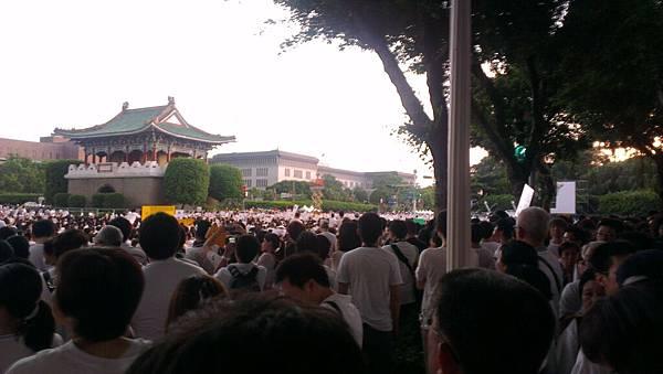 2013年8月3日「萬人白T凱道送仲丘」-2