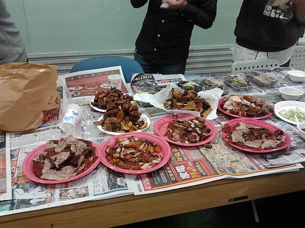 2013年1月26日 高師系壘OB賽-2 吃烤鴨
