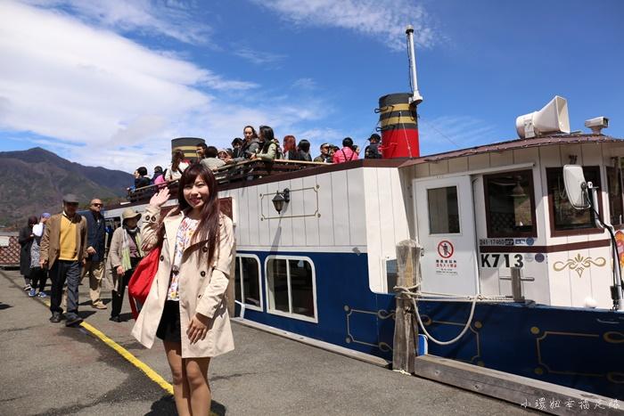 河口湖遊覽船
