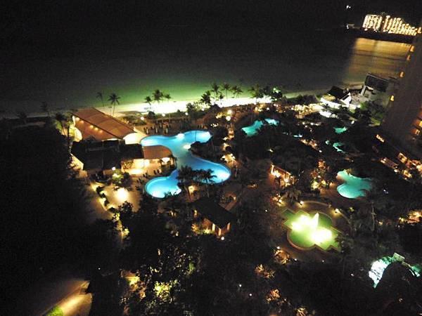 凱悅飯店夜景