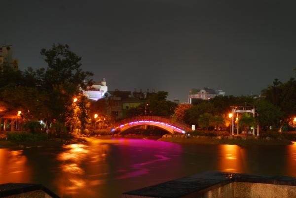 南瀛綠都心夜景