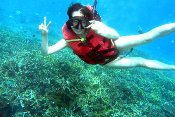 snorkeliing