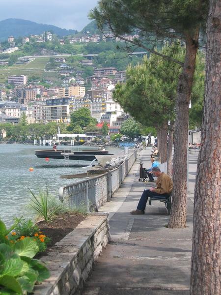 Montreux - lake side