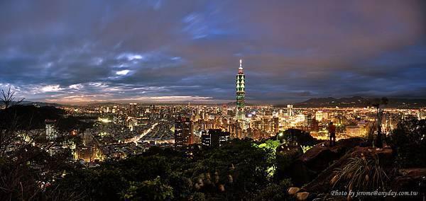台北市聖誕夜景