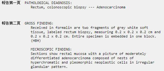 POLYP Adenocarcinoma