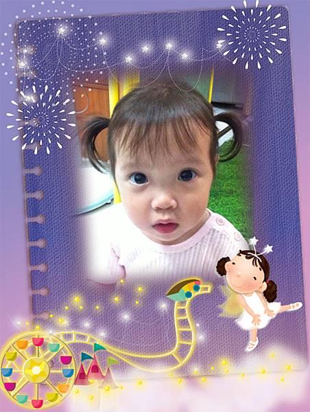 大小寶成長相片12-24個月