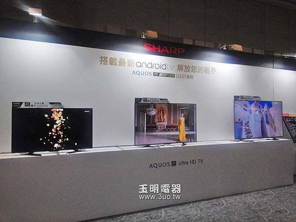 sharp夏普4K2K液晶電視.65吋LC-65U35T 58吋LC-58U35T 50吋LC-50U35T