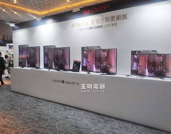 sharp夏普4K2K液晶電視.65吋LC-65U30T 58吋LC-58U30T 50吋LC-50U30T 40吋LC-40U30T