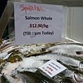 鮭魚啊啊啊, 我的最愛...一公斤13塊左右算是便宜的了