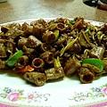 薑絲炒大腸(加金秸版)