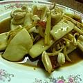 薑絲炒花枝片