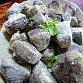 用黑豆製作的豆腐