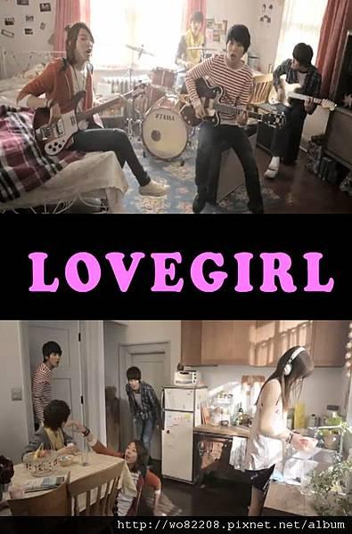 """CNBLUE推出傳情""""愛的女孩""""在2011年4月22日在逐漸減弱。"""