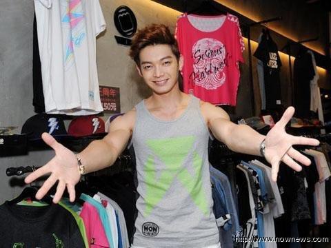 辰亦儒創潮牌快5年,目標想在台灣設實體店舖。