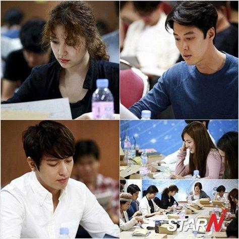 尹恩惠-李東健-鄭容和「未來的選擇」首次劇本練習現場 氣氛和諧融洽