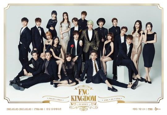 [STARCAST]拍攝家族照片的那一天,FNC KINGDOM的海報拍攝現場大公開!