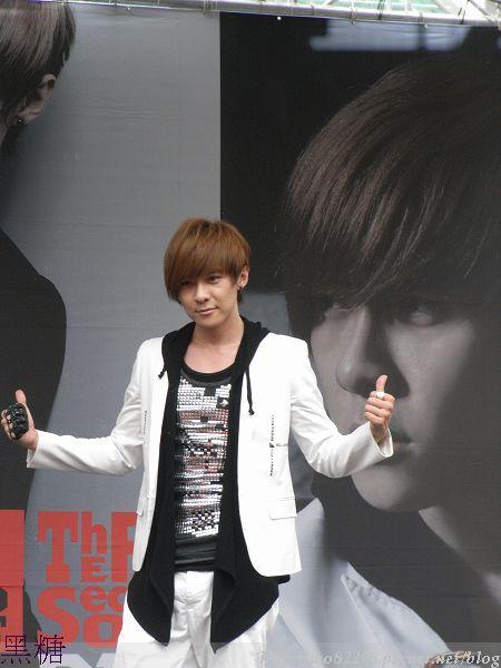 2010/06/20 禹哲  西門 紅樓 預購簽唱會