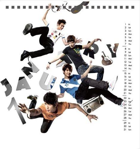 2010/01 月 日曆