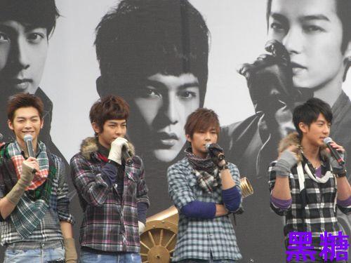 2010/01/02 飛輪海  唯一 DVD 預購簽唱