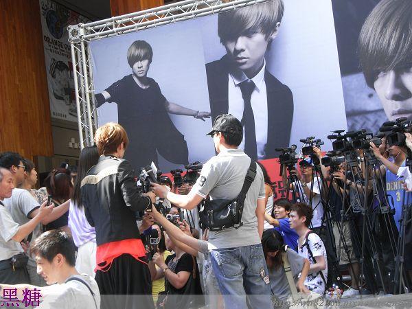 2010/07/04 禹哲  簽唱會   來賓   揚千霈