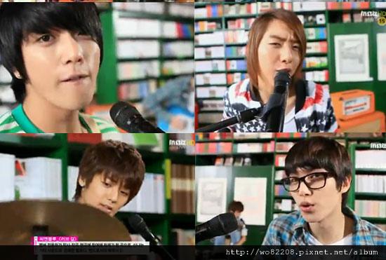 "CNBLUE音樂節目""LOVE GIRL ""列表中的音樂的核心。"