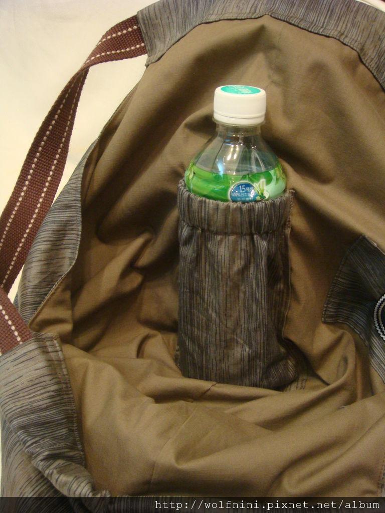 放水瓶的口袋