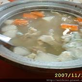 送錯桌卻已經吃了的牛雜湯