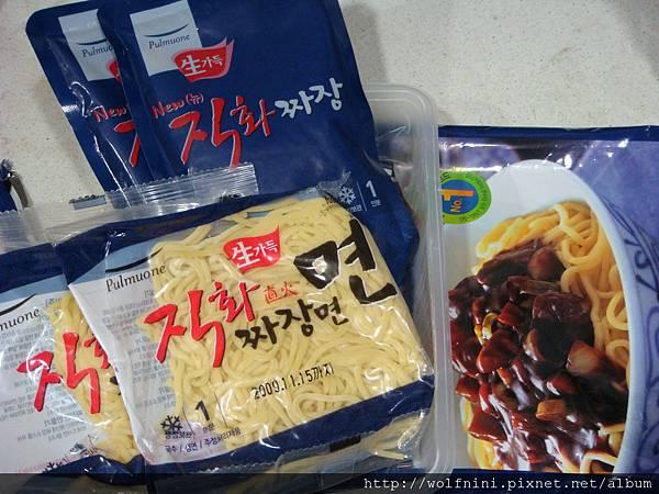 韓國冷凍食品內容物