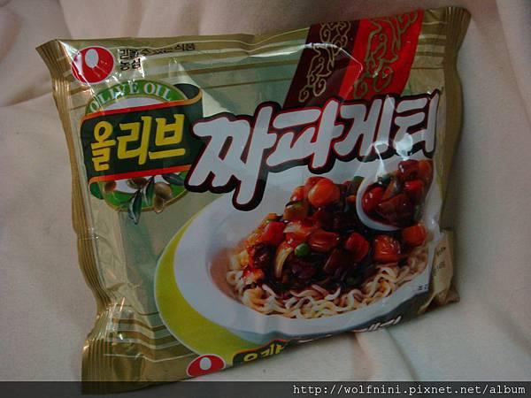 韓國炸醬泡麵