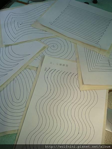 職訓課「布類製品製作培訓班」功課